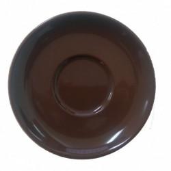 DEL MOKA-CAFE PLATILLO 11,5CM CHOCO