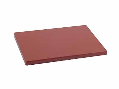 TABLA CORTE POLIET 30X25X2 MARRON