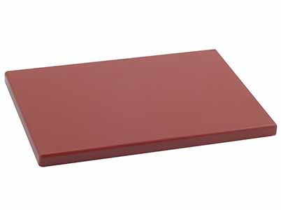 TABLA CORTE POLIET 60X40X3 MARRON