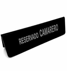 RESERVADO CAMARERO METACRI NGO 28X8,5