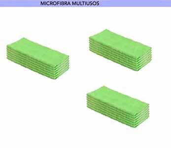 BAYETA MICROFIBRA VERDE 40X38