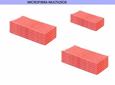 BAYETA MICROFIBRA ROJA 40X38