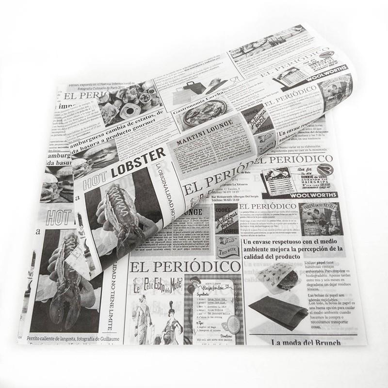 PAPEL ANTIGRASA PERIODICO 28X34